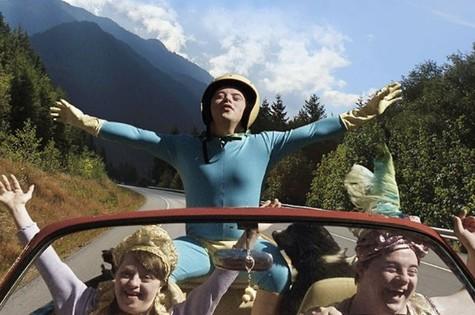 Breno Viola no filme 'Colegas' (Foto: Reprodução)