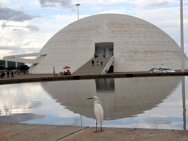 Museu da República (Foto: Vianey Bentes/TV Globo)