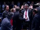 Parlamentares se provocam no 2º dia do julgamento de Dilma no Senado