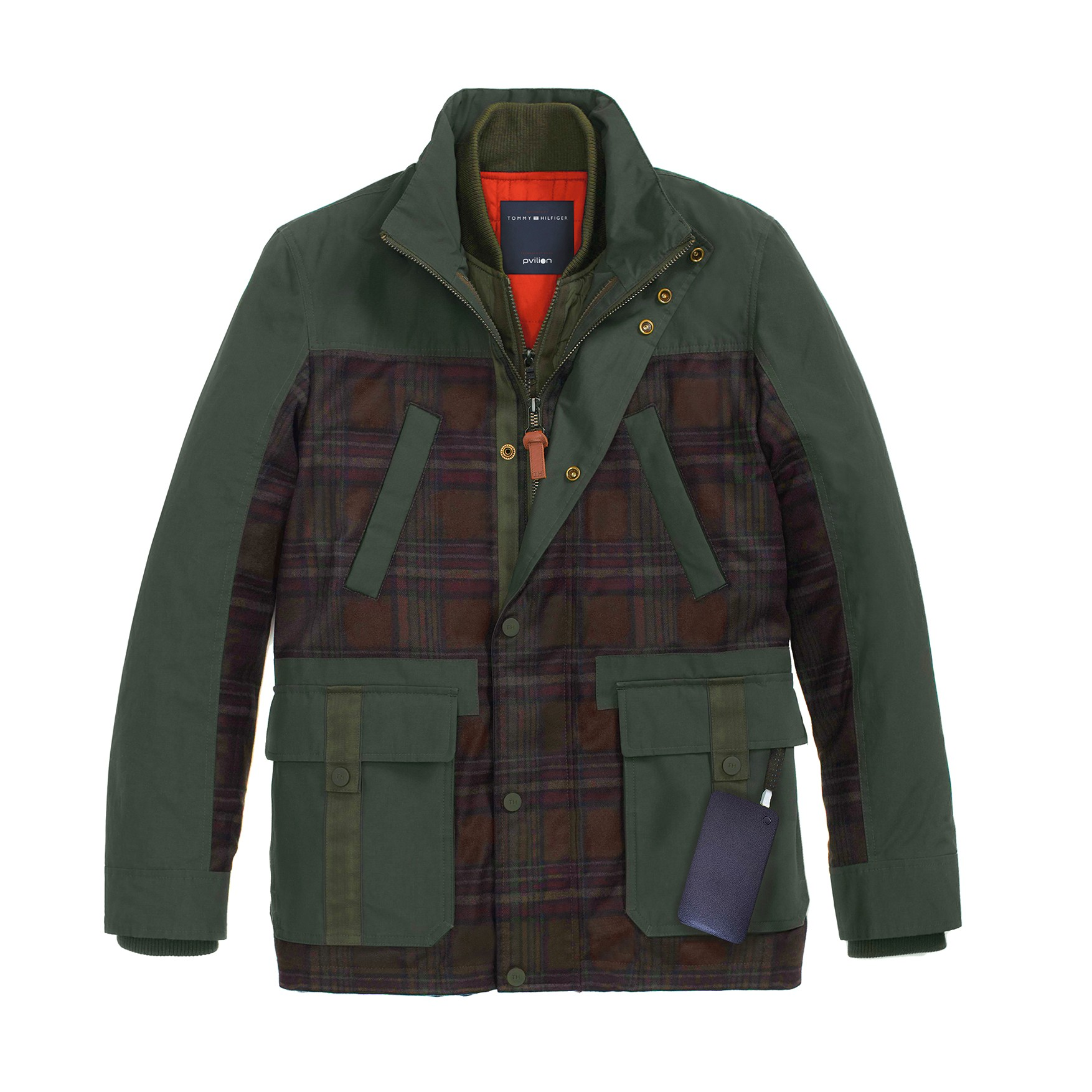 tommy hilfiger lan a jaqueta que carrega aparelhos eletr nicos gq estilo. Black Bedroom Furniture Sets. Home Design Ideas