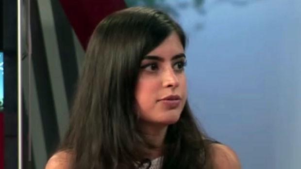Ex-aluna de escola pública de SP estudou em Harvard (Reprodução TV)