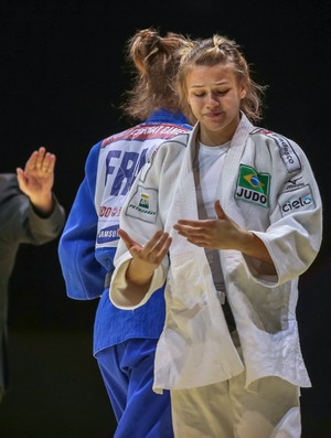 Ana Carla Grincevicus world combat games judo (Foto: World Combat Games)