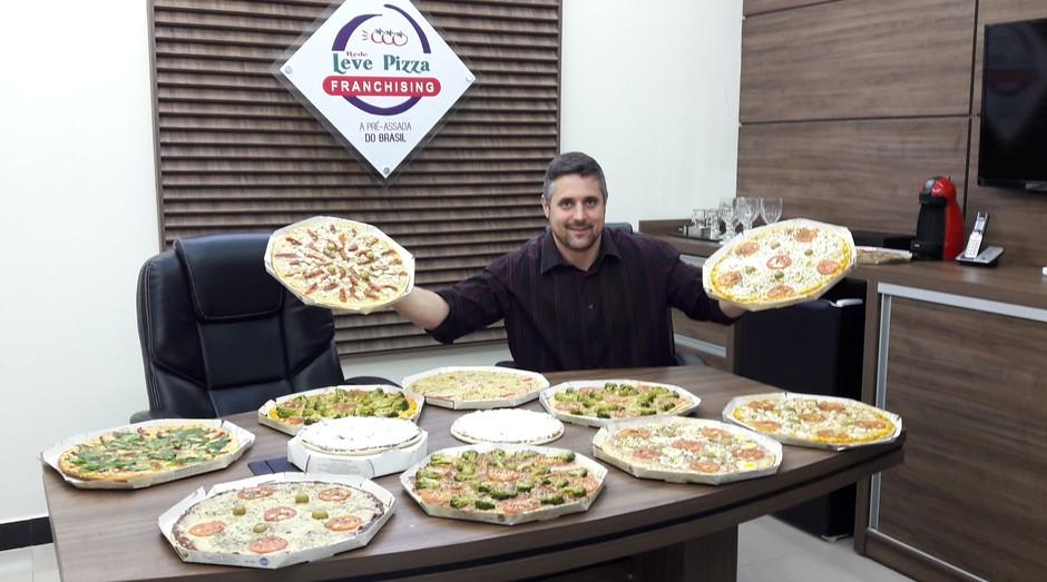 Tiago Azem, fundador da Rede Leve Pizza (Foto: Divulgação)