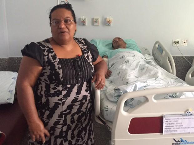 Mãe diz que não acreditou quando viu vídeo do acidente com o filho (Foto: Murillo Velasco/G1)