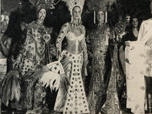 Aiuruoca realiza carnaval antecipado há quase 80 anos (Foto: Revista O Cruzeiro/Arquivo Câmara Municipal de Aiuruoca)