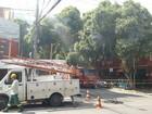 Fogo em rede elétrica deixa mais de 2 mil sem serviço de TV em Valadares