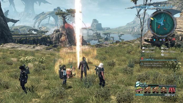 Xenoblade Chronicles X: saiba como abrir todas as regiões do mapa (Foto: Reprodução/Victor Teixeira)