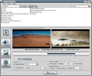 a4 video converter