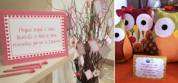 Brincadeiras para ch de beb: veja sugestes para animar a festa (Foto: Caraminholando Atelier de Festas/Foto Divulgao)