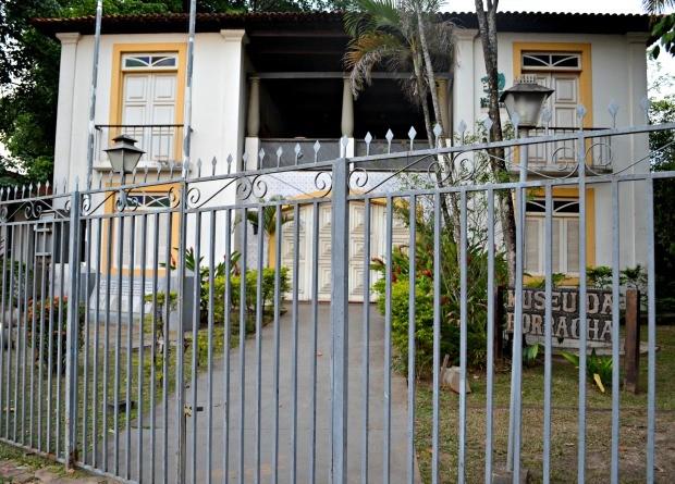 Museu da Borracha está fechado á cinco meses no Acre (Foto: Veriana Ribeiro/G1)