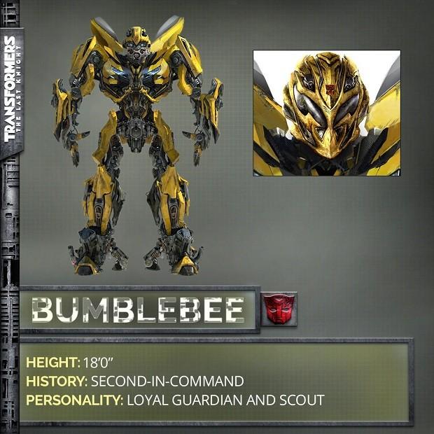 Autobot Bumblebee em Transformers: O Último Cavaleiro (Foto: Divulgação)