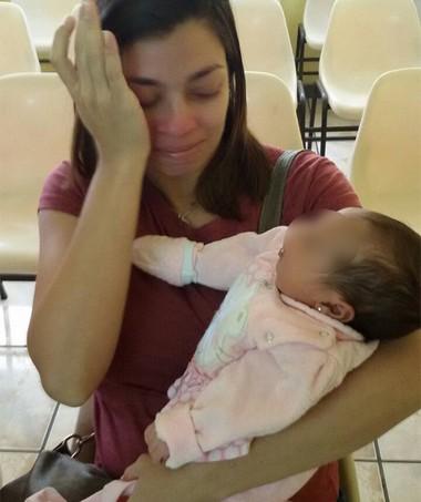 Marcelle e a filha (Foto: Arquivo pessoal)