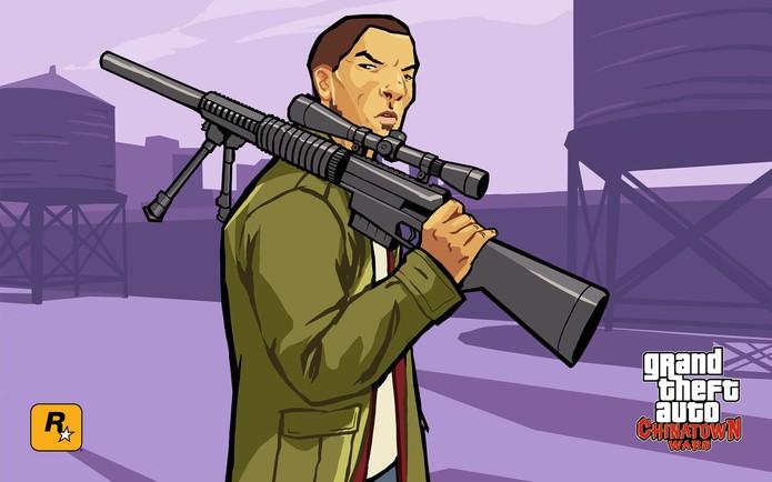 Huang Lee de GTA Chinatown Wars (Foto: Divulgação/Rockstar)