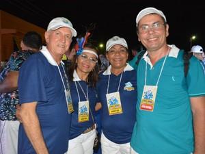 Organização diz que público superou os 60 mil foliões (Foto: Toni Francis/G1)