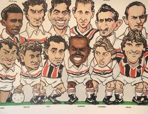 Homenagem para Leônidas da Silva São Paulo (Foto: David Abramvezt)