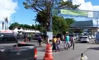 Volta para casa pelo ferry tem fila que passa de 2h para veículos; confira (Reprodução/TV Bahia)