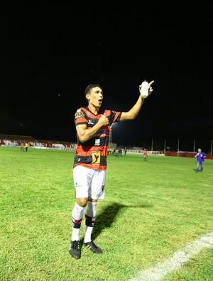 Victor Recife, volante do Flamengo-PI  (Foto: Wilson Filho/Fla-PI)