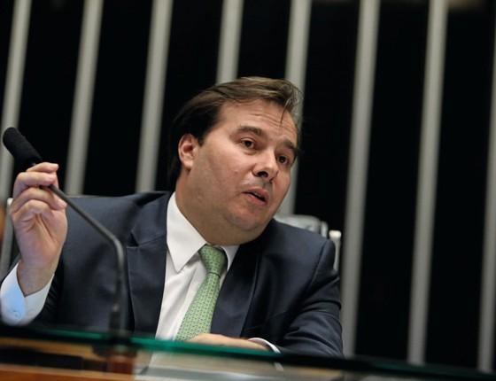 O presidente da Câmara Rodrigo Maia (Foto:  ANDRÉ DUSEK/ESTADÃO CONTEÚDO)