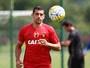 Na transição, Diego Souza deve voltar  no Sport contra o Internacional