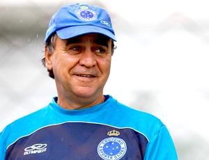 Marcelo Oliveira no treino do Cruzeiro (Foto: Washington Alves / Vipcomm)