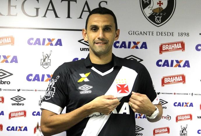 rafael marques apresentação (Foto: Paulo Fernandes / Vasco.com.br)