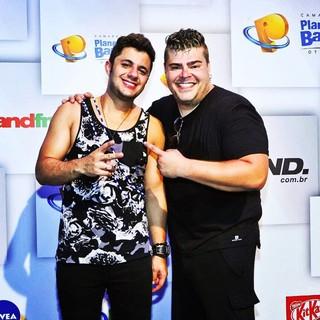Rafael Vanucci e Cristiano Araújo (Foto: Reprodução/ Instagram)
