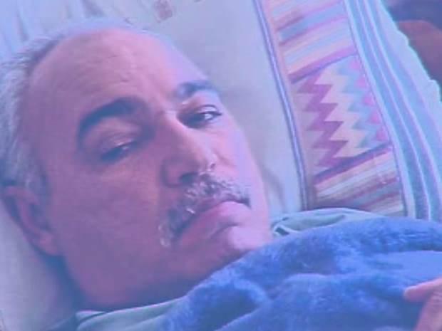 Paciente com câncer - Jacareí (Foto: Reprodução/ TV Vanguarda)