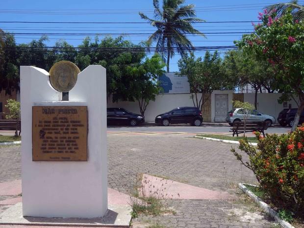 Terreiro do Pilão de Prata fica no bairro da Boca do Rio, em Salvador (Foto: Egi Santana/G1)
