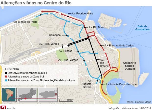 arte mapa perimetral info trânsito rio (Foto: Editoria de Arte / G1)