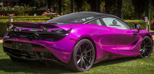 McLaren 720S foi apresentado ao público no gramado dos conceitos (Concept Car Lawn), (Foto: Divulgação)