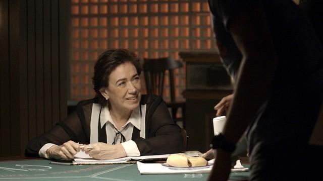 'A força do querer': Lilia Cabral é Silvana (Foto: TV Globo)