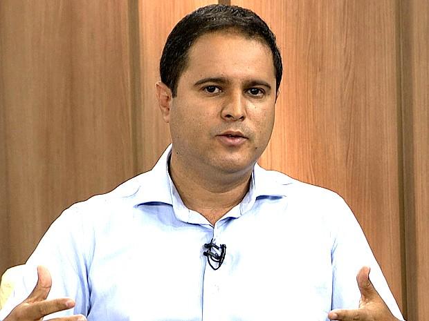 Edivaldo Holanda Jr., candidato a reeleição em São Luís (Foto: Reprodução/TV Mirante)