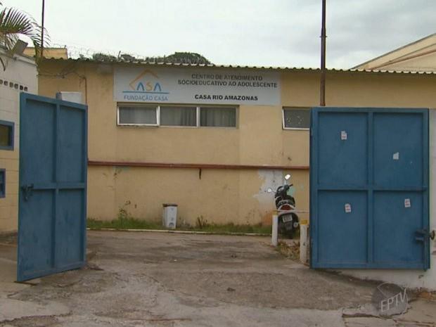 Fundação Casa Campinas (Foto: Reprodução/EPTV)