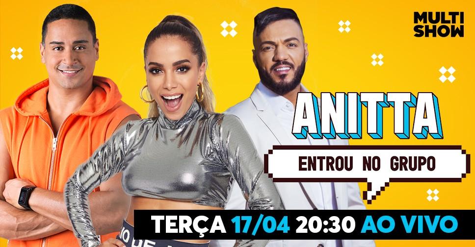 Anitta recebe Belo e Harmonia do Samba no terceiro episdio de Anitta Entrou no Grupo, na prxima tera (17) (Foto: Divulgao)