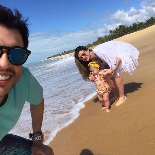 Ceará, Mirella e Valentina (Foto: Reprodução/Instagram)