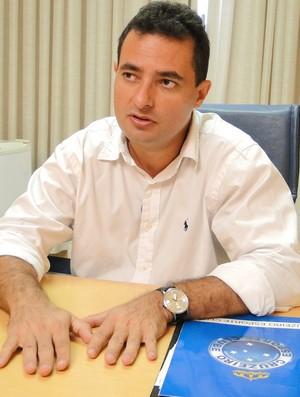 Alexandre Mattos, diretor de futebol do Cruzeiro (Foto: Marco Antônio Astoni / Globoesporte.com)