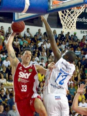 Bauru Basquete x Basquete Cearense, Felipe, pelas oitavas do NBB 6 (Foto: Caio Casagrande / Bauru Basket)
