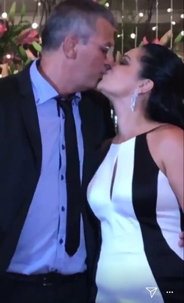 Neide Maia e Telmo Maia, pais de Bruna Marquezine (Foto: Reprodução)