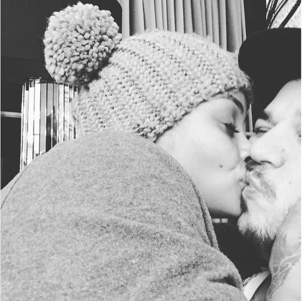 Blac Chyna e Rob Kardashian (Foto: Instagram)