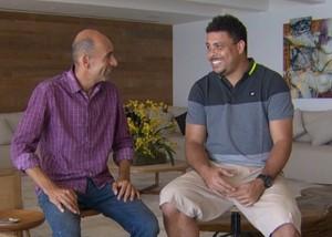 Ronaldo fala sobre conquista de Gabriel Medina (Foto: Reprodução)