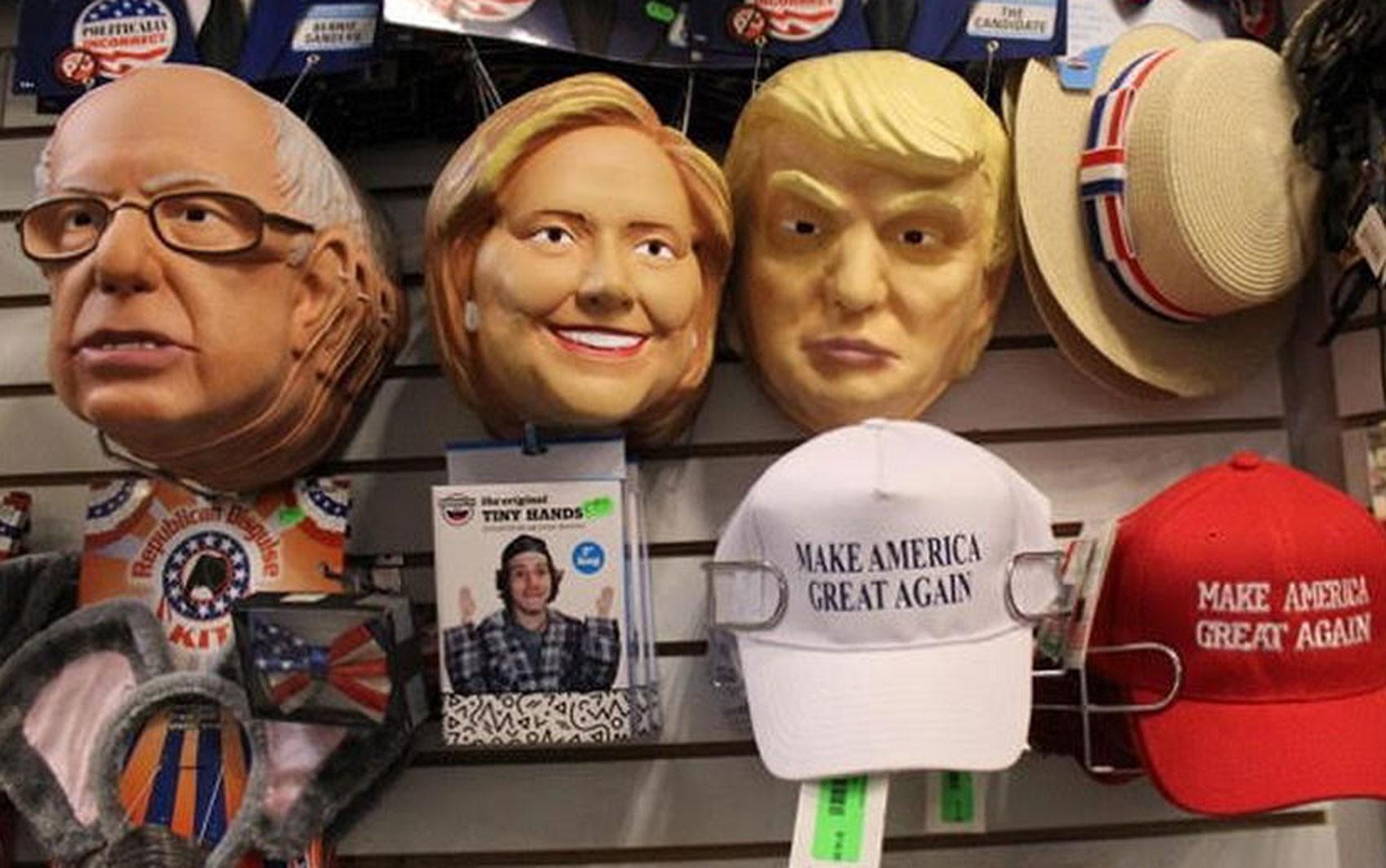 Em anos de eleição presidencial, o interesse é particularmente maior em máscaras de políticos (Foto: DW/M. Santos)