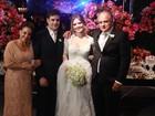 Famosos vão ao casamento do Repórter Vesgo, em São Paulo