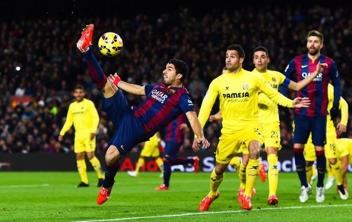 Suarez, Barcelona x Villarreal (Foto: Getty Images)