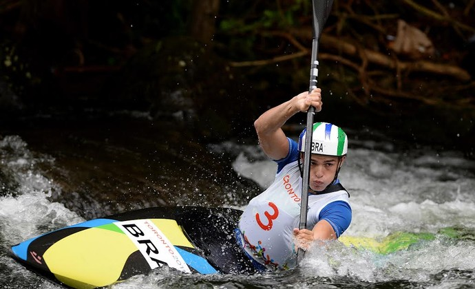 Pedro Henrique k1 da canogem slalom Jogos Pan Americanos Toronto Canadá (Foto: Bruno Miani/inovafoto/COB/inovafoto)