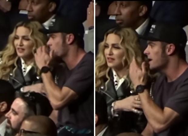 Zac Efron e Madonna (Foto: Reprodução)