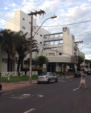 Hospital Santa Genoveva Uberlândia Luciano do Valle (Foto: Daniel Mafra)