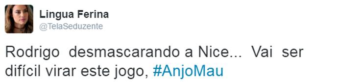 Intenauta dá sua opinião sobre trama de Anjo Mau (Foto: Reprodução)