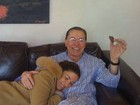 Patrícia Abravanel homenageia o pai, Silvio Santos, no dia de seu aniversário