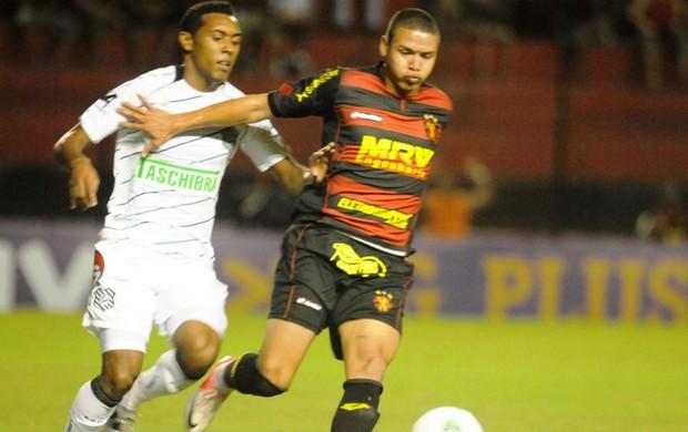 Sport x Figueirense, na Ilha do Retiro (Foto: Aldo Carneiro / Pernambuco Press)