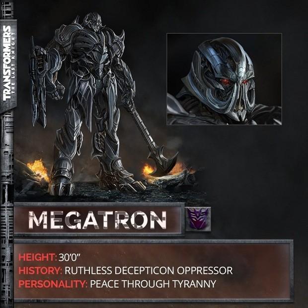 Decepticon Megatron em Transformers: O Último Cavaleiro (Foto: Divulgação)